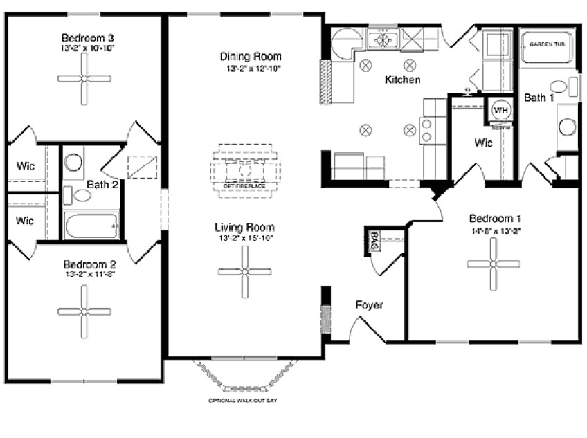 small modular home floor plans 129391