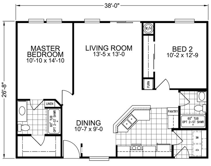 small modular home floor plans