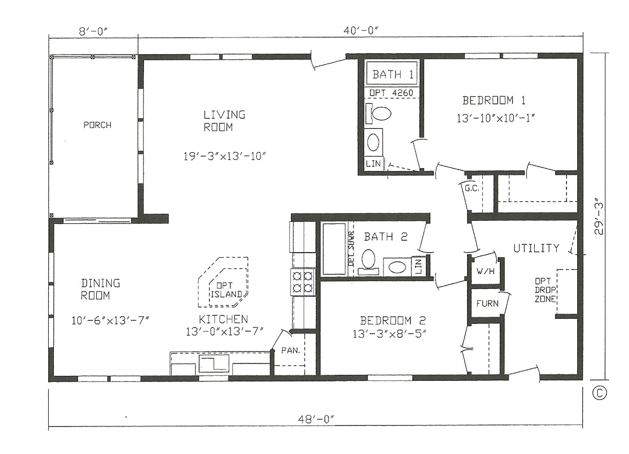 Small Manufactured Homes Floor Plans Small Modular Homes Floor Plans Home Design and Style
