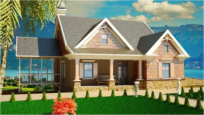 southern cottage plan