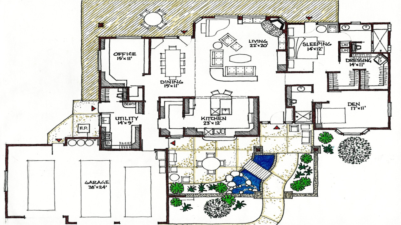 17 fresh passive solar small house plans