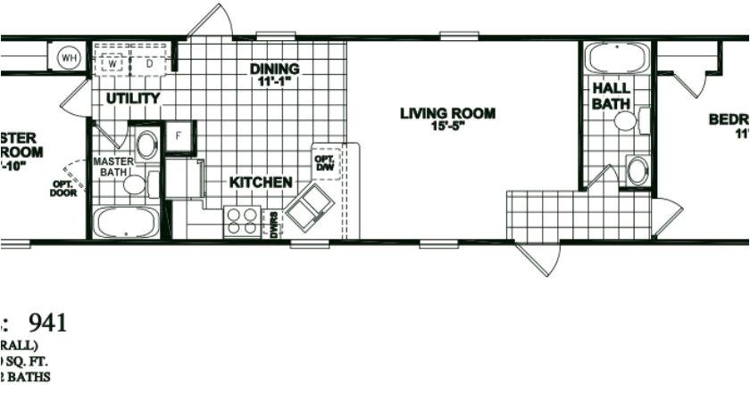 solitaire homes floor plans