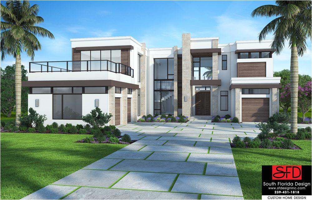 house plan contemporary 2 story 5 bedroom salma f2 7621 s