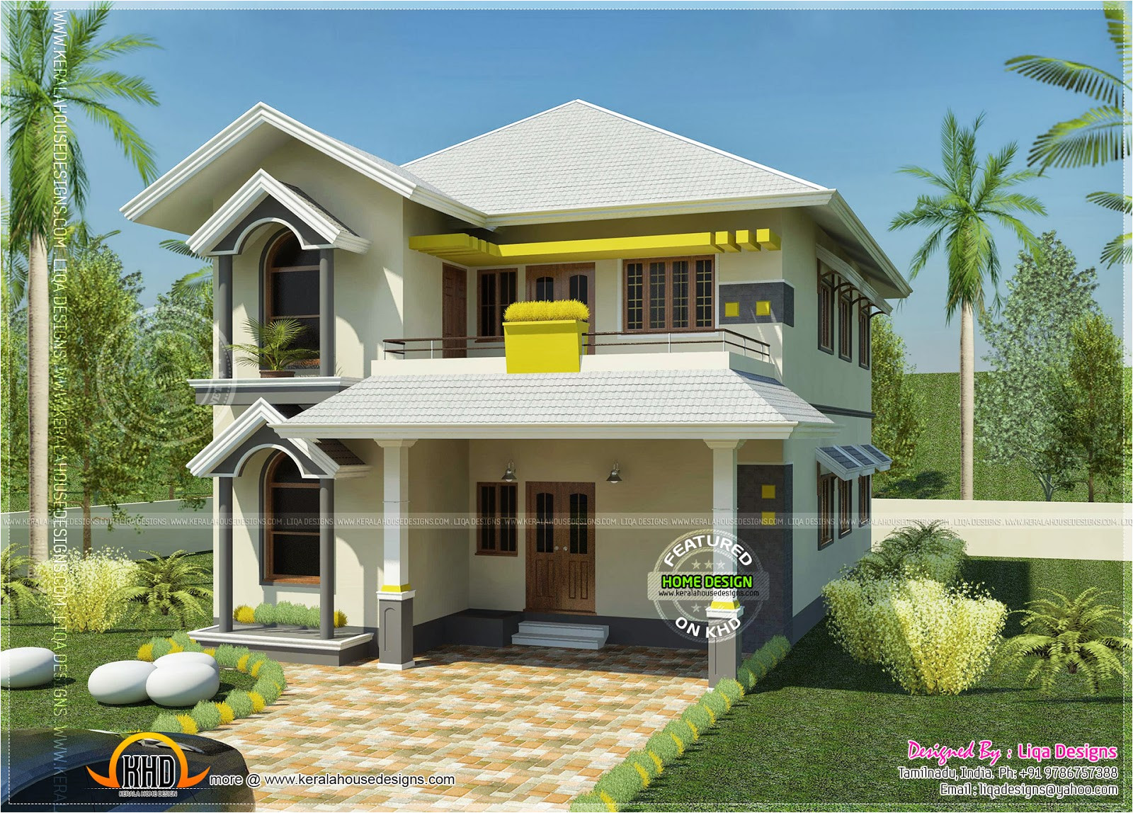 South Indian Home Plans and Designs House south Indian Style In 2378 Square Feet Kerala Home