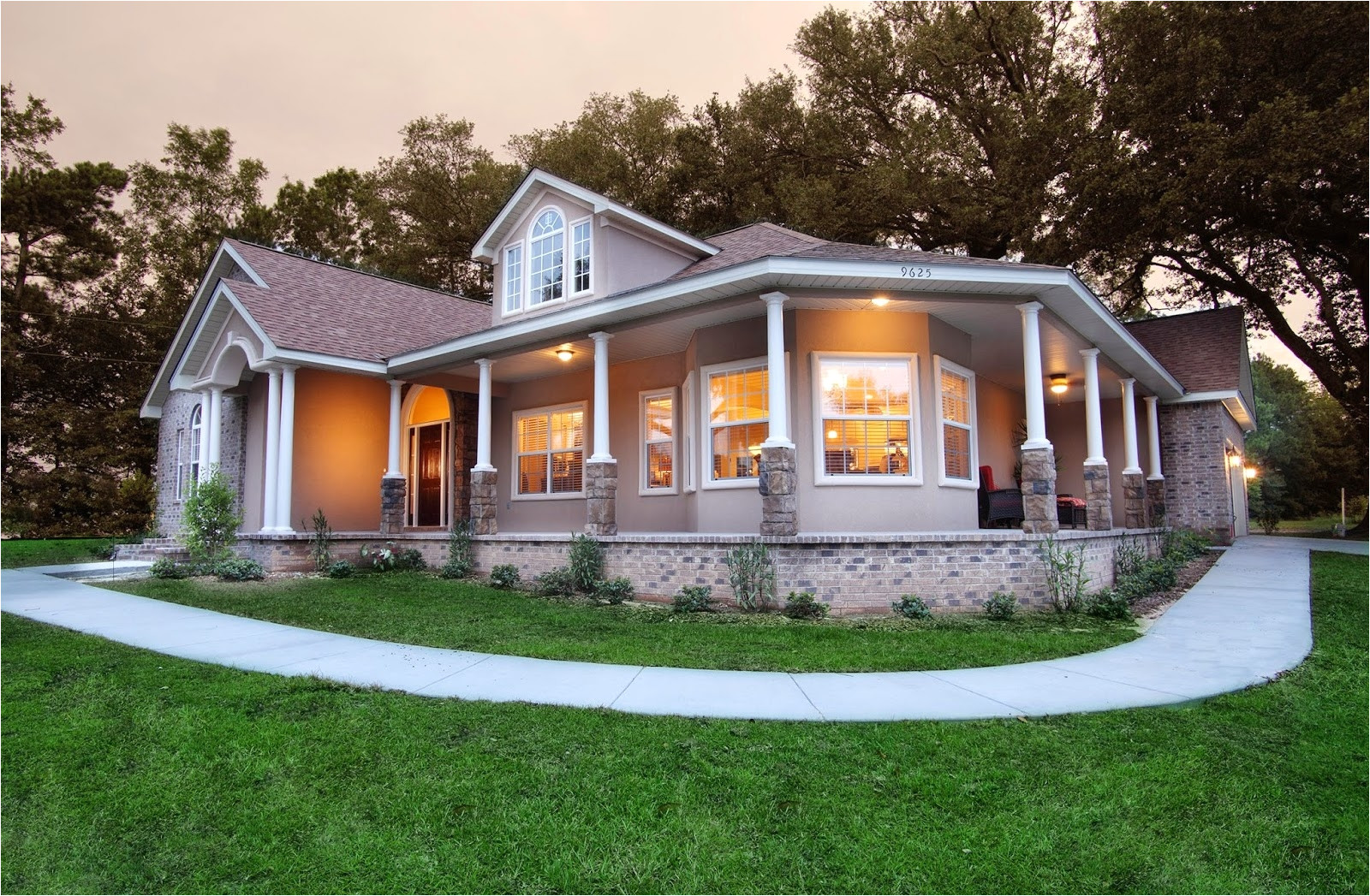 Southern Home Plans Designs southern Home Designs with Wrap Around Porches