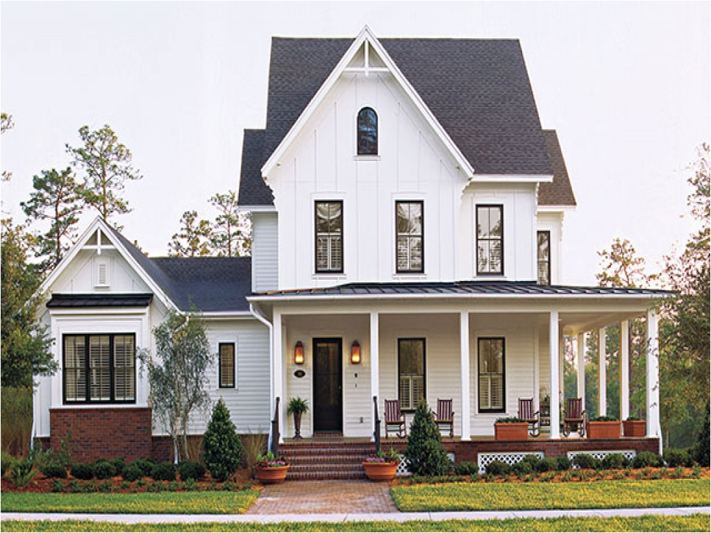 Southern Living Home Plans Farmhouse southern Living House Plans Farmhouse One Story House
