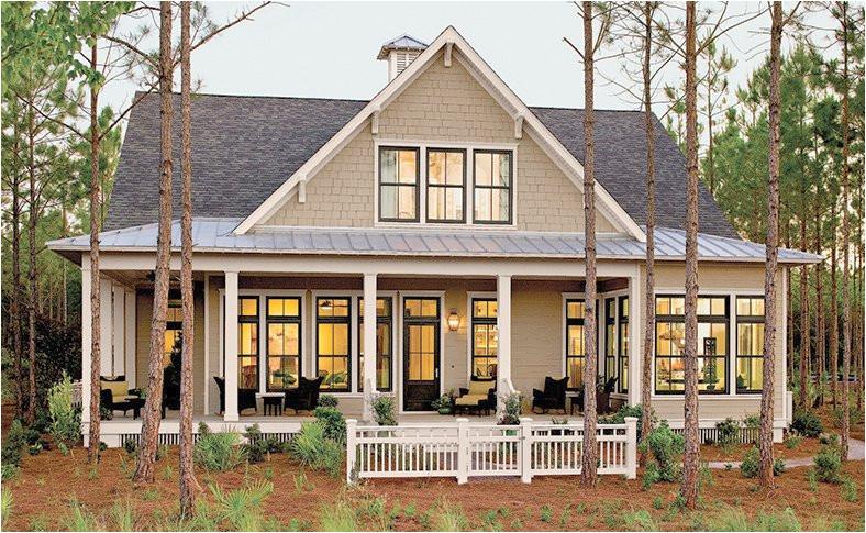southern living lake house plans