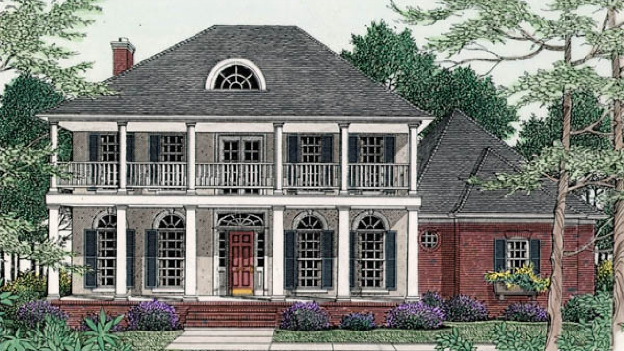 Southern Plantation Style Home Plans Inside Old House Old Southern