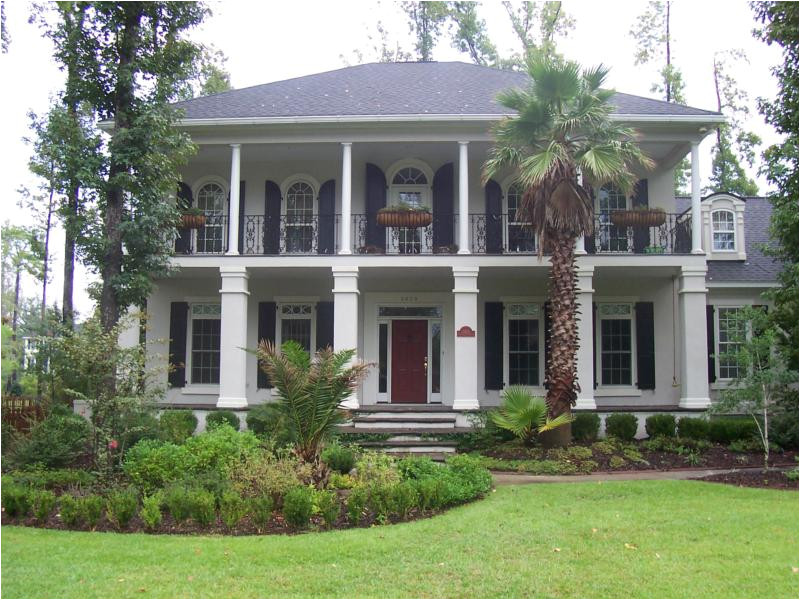 inspiring southern style house plans 4 southern plantation style home