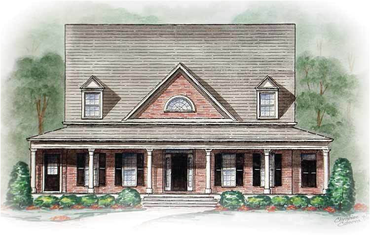southern style with wrap around porch 15745ge