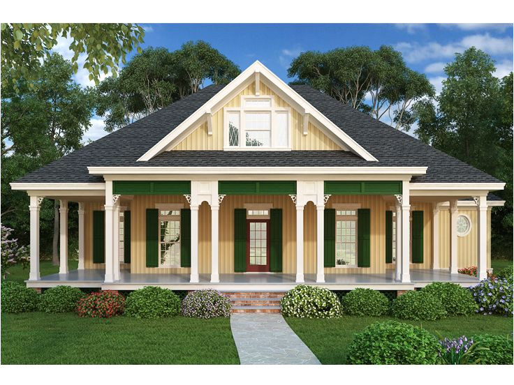 Southern Style Ranch Home Plans southern House Plans southern Ranch House Plan 021h