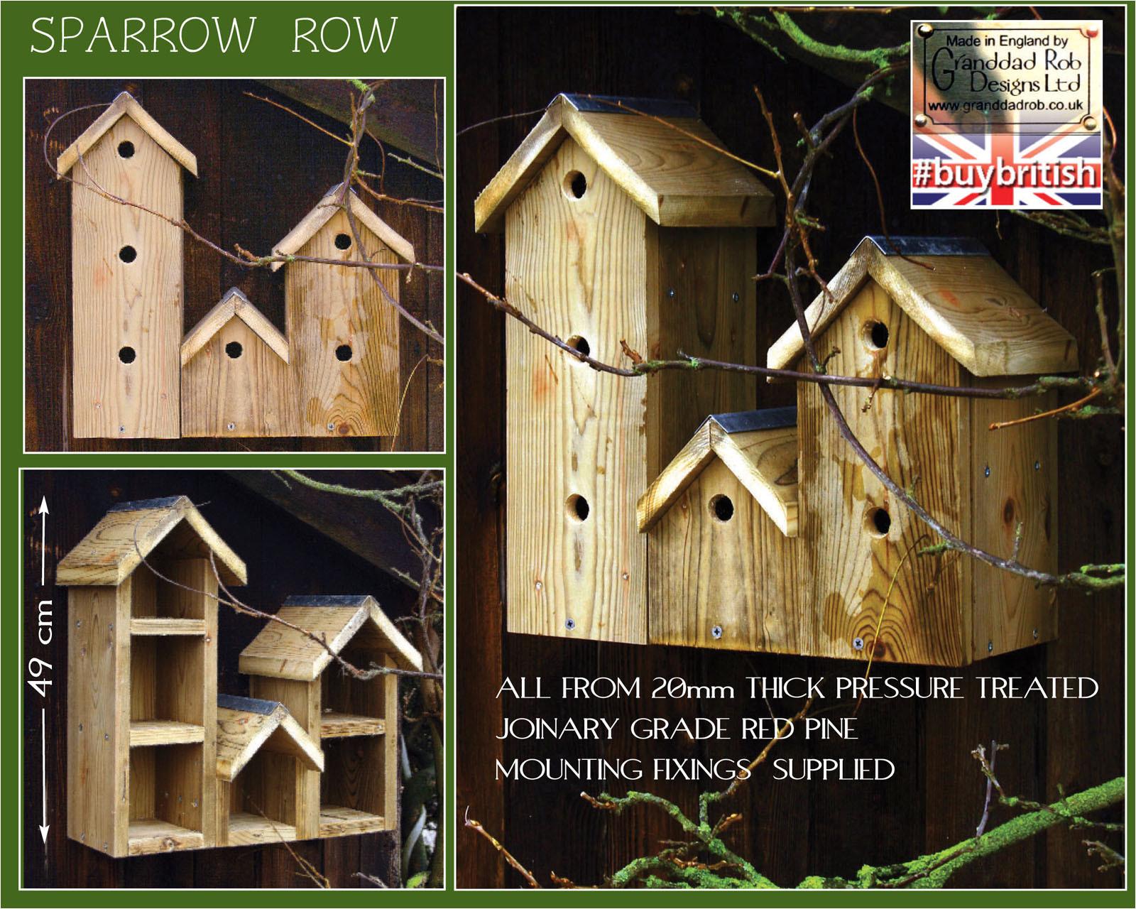sparrow row bird box p 77