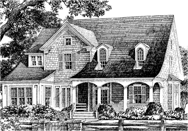 Spitzmiller and norris House Plans Cape May Spitzmiller and norris Inc southern Living
