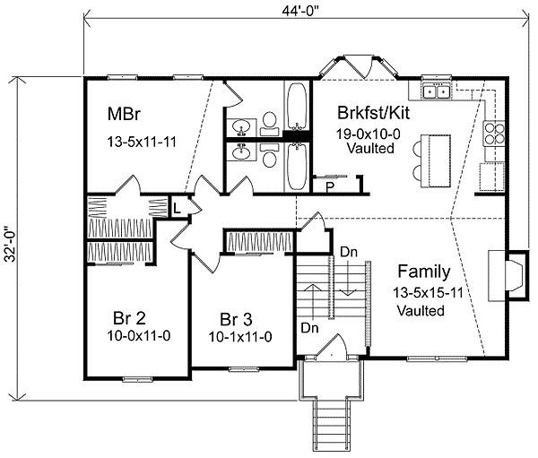 split level home floor plans