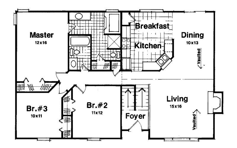 split level homes floor plans