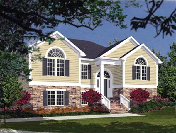 landscape plans for split foyer home