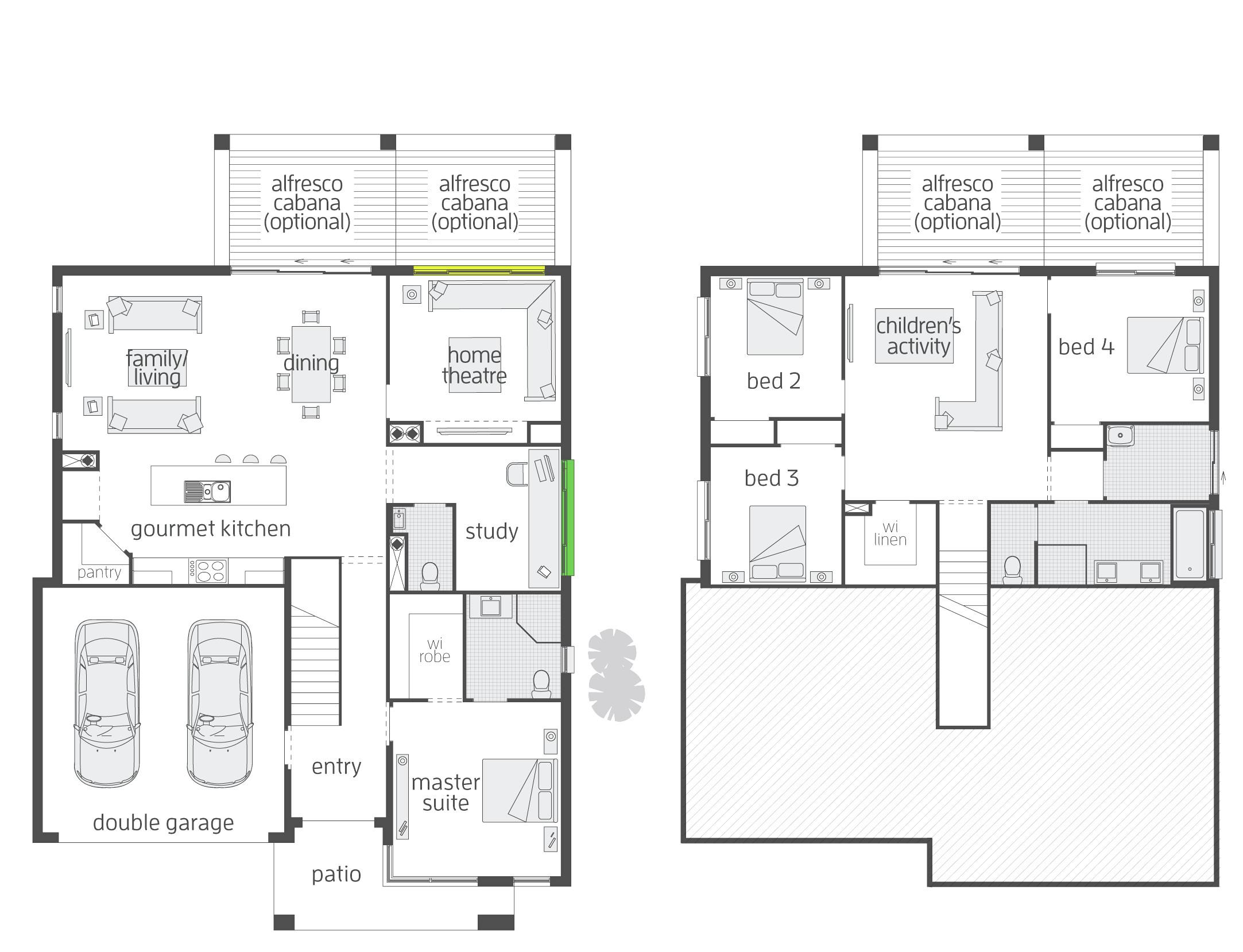 split level house plans with walkout basement