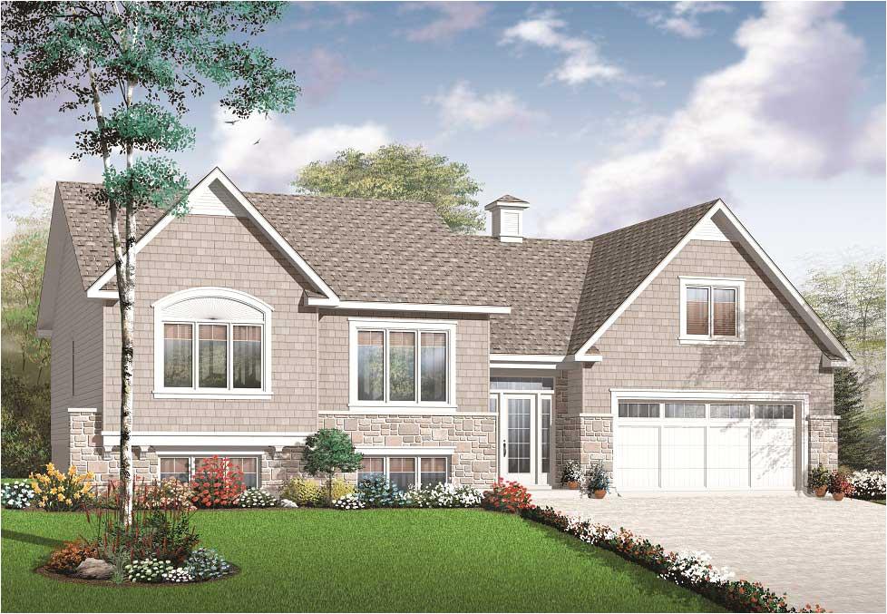 home plan 25507