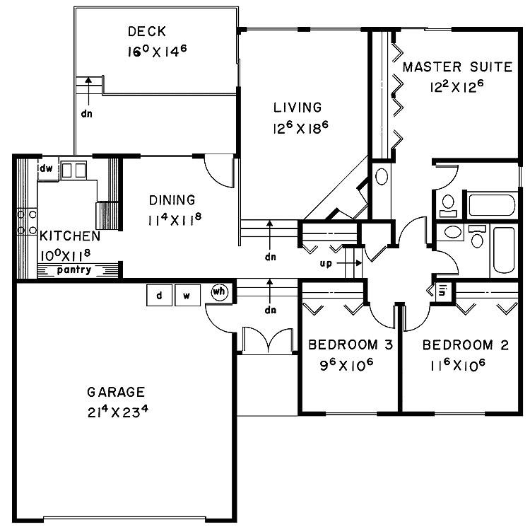 split level house floor plans