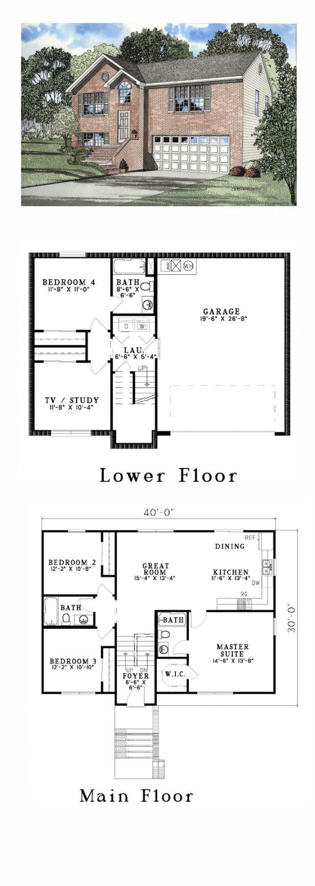9789 split level modular homes floor plans