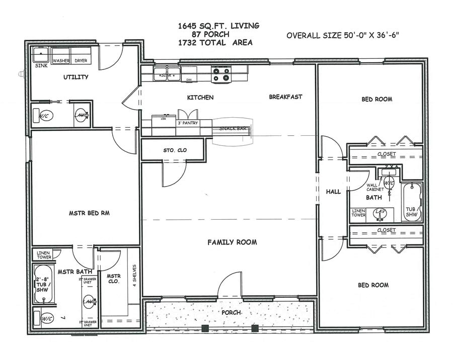 large square house plans spacious living space two bedrooms