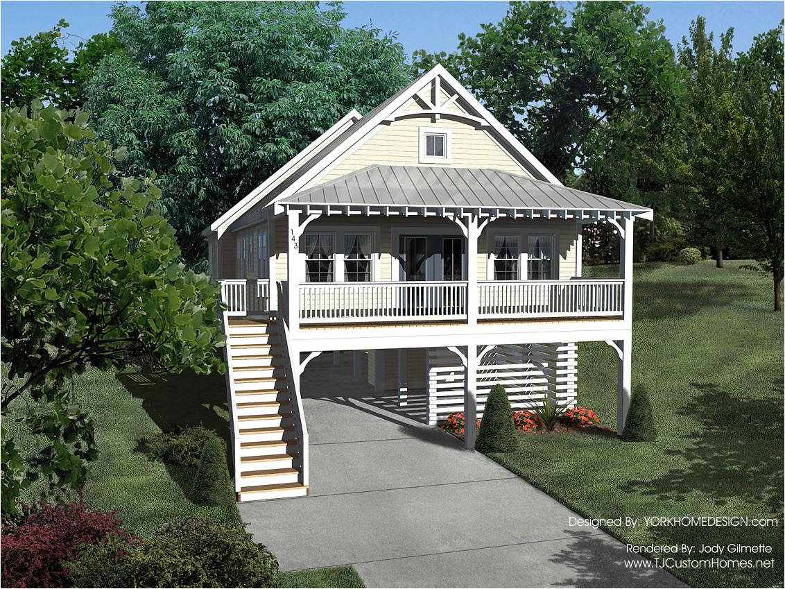 modern house plans on stilts
