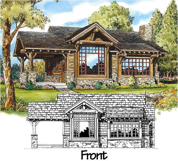 stone mountain cabin plans
