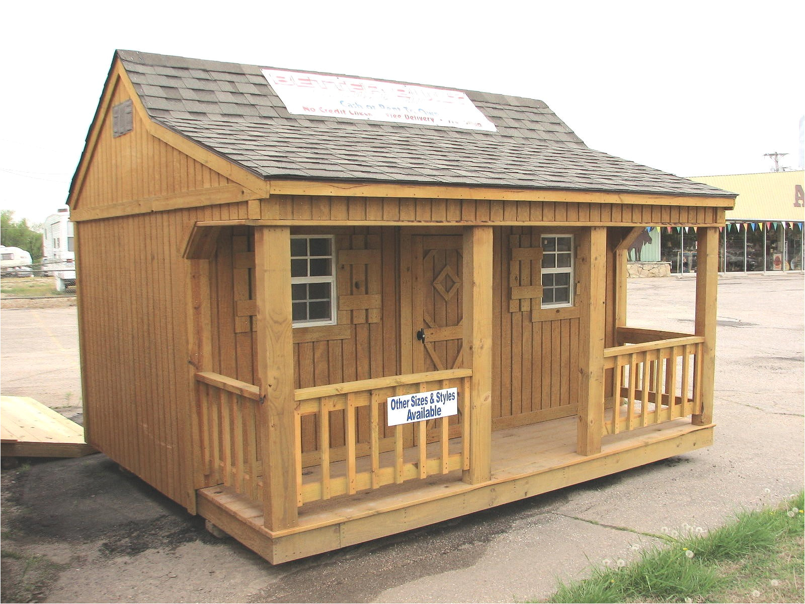 storage building cabin plans