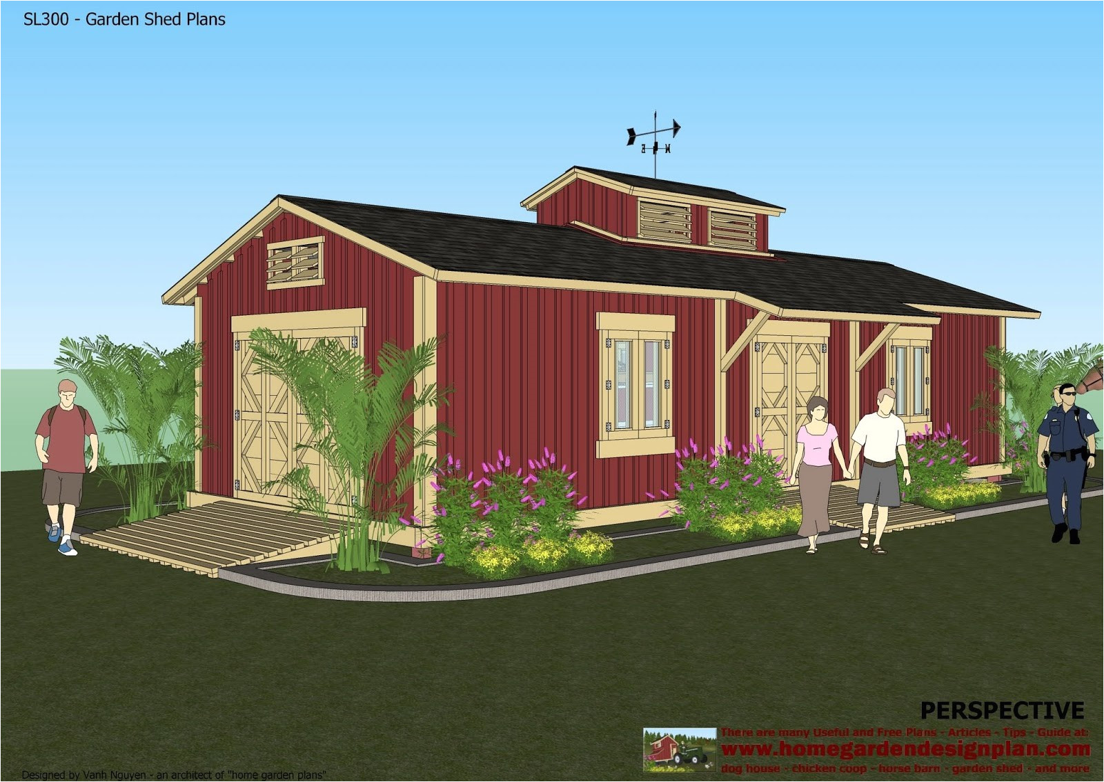 storage shed home plans
