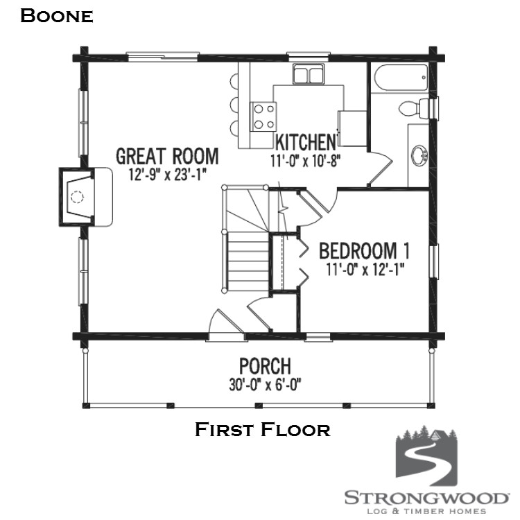 boone first floor