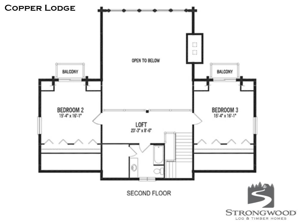 copper lodge second floor