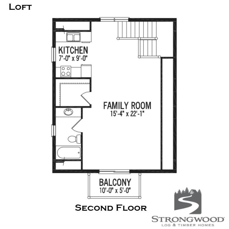 loft second floor