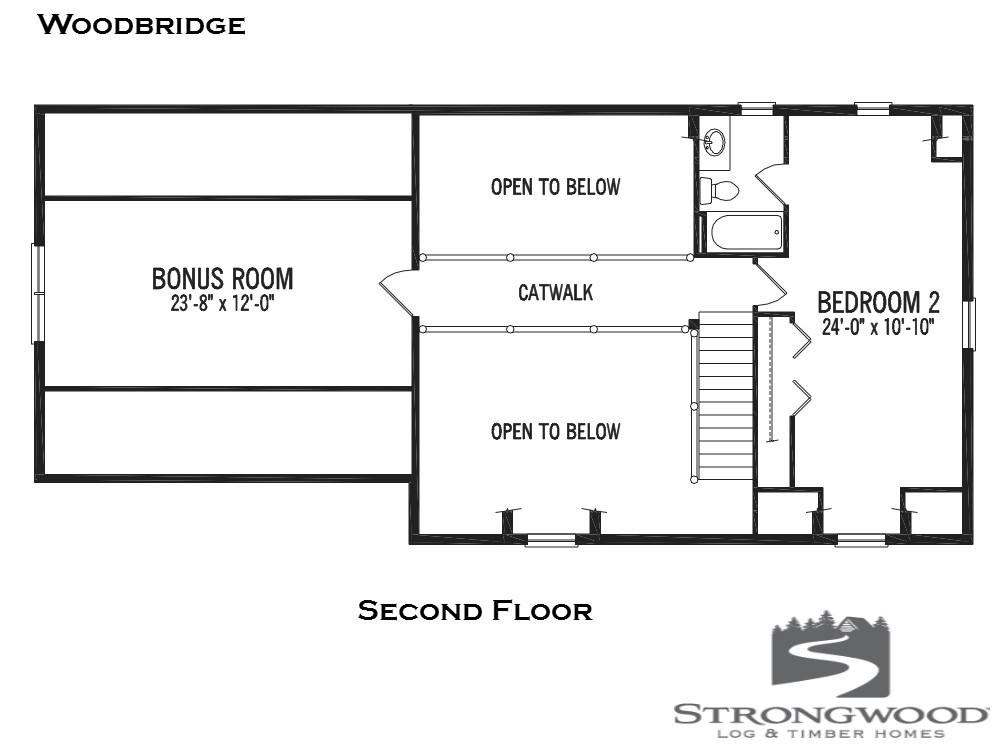 woodbridge second floor