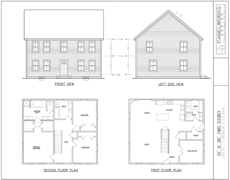 panelworks design structural insulated panel sip home designs 5