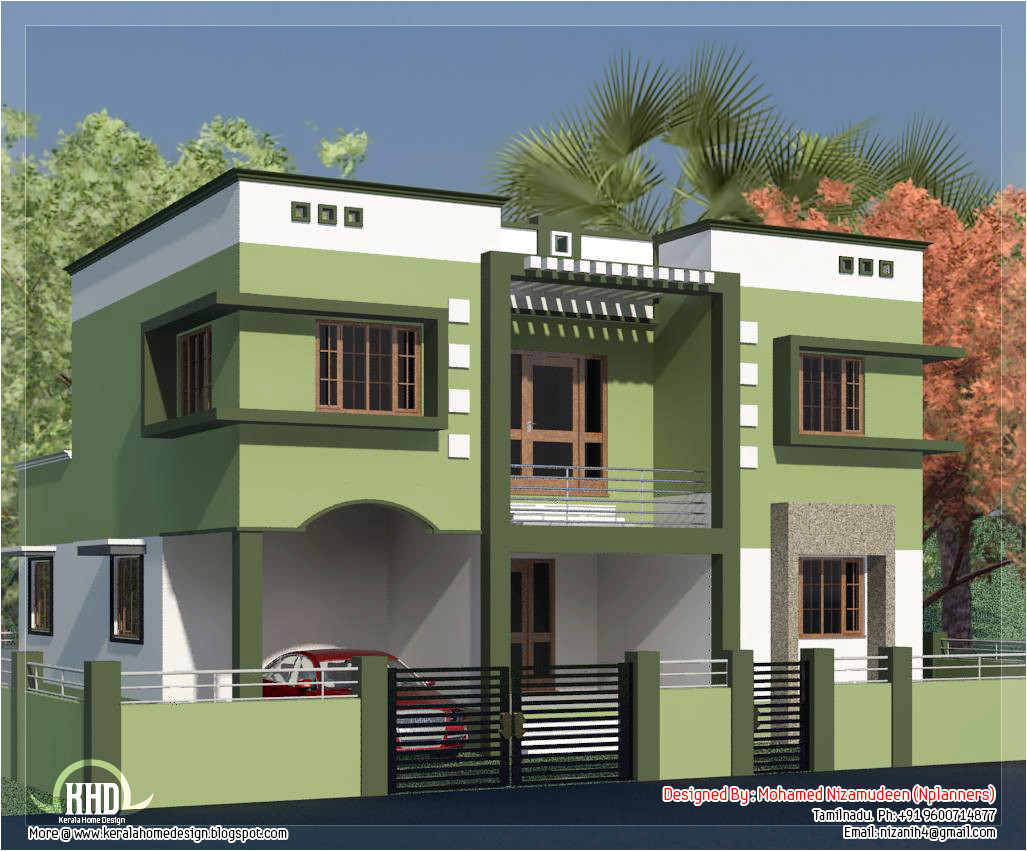 tamilnadu model house photos