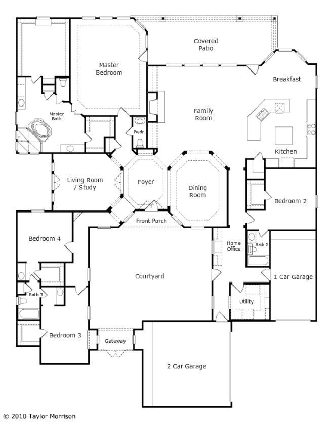 taylor morrison homes floor plans