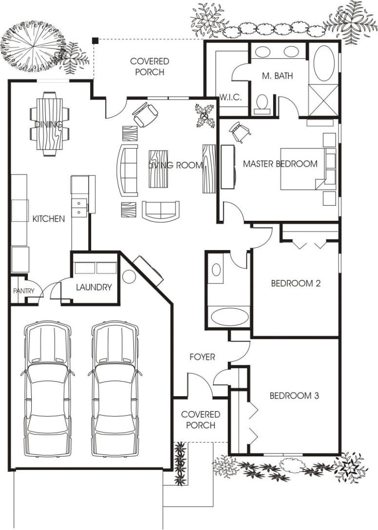 tiny houses floor plans texas