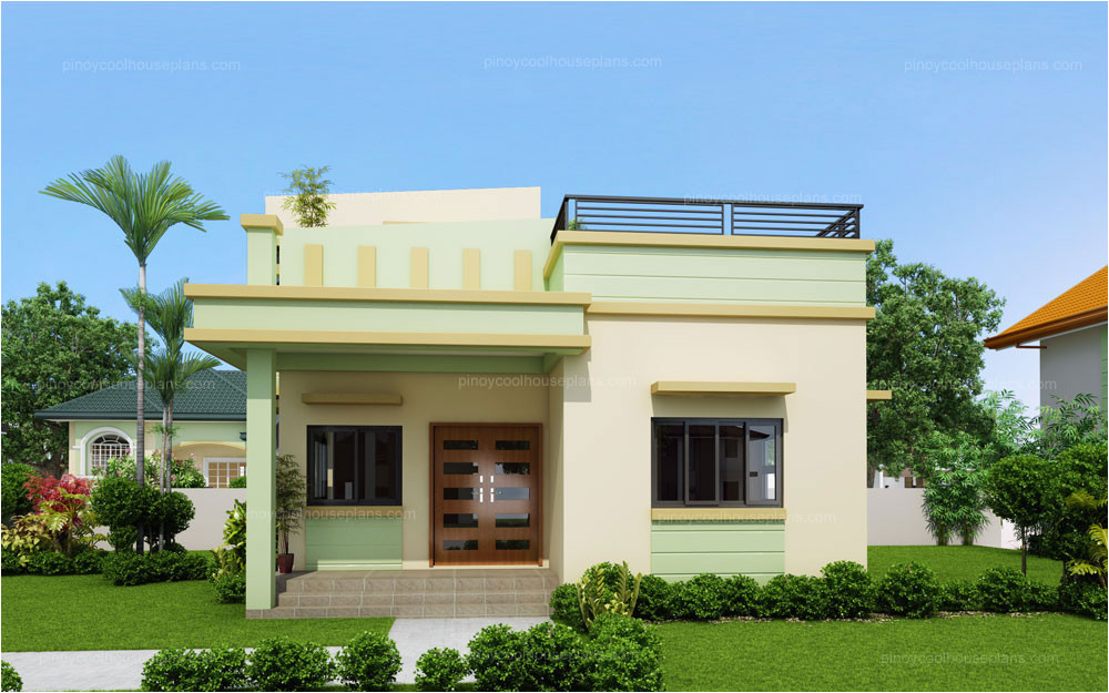 loraine modern minimalist house plan