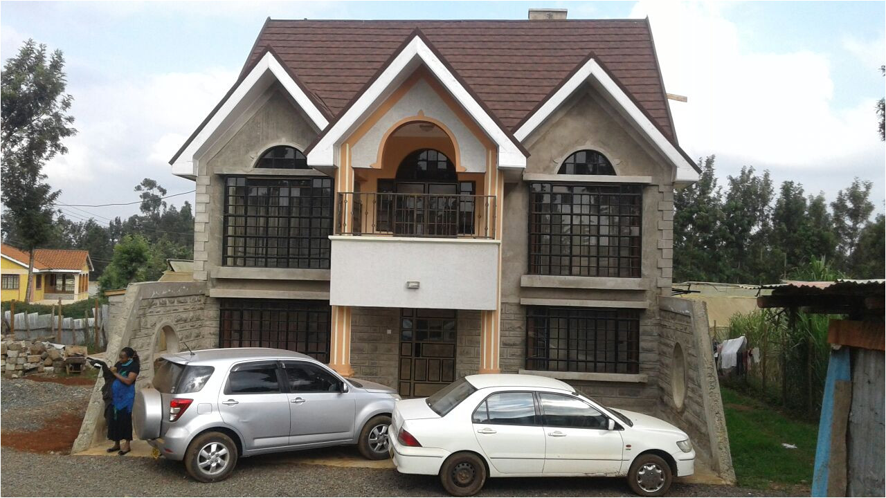house plans in kenya the built 4 bedroom a house plan