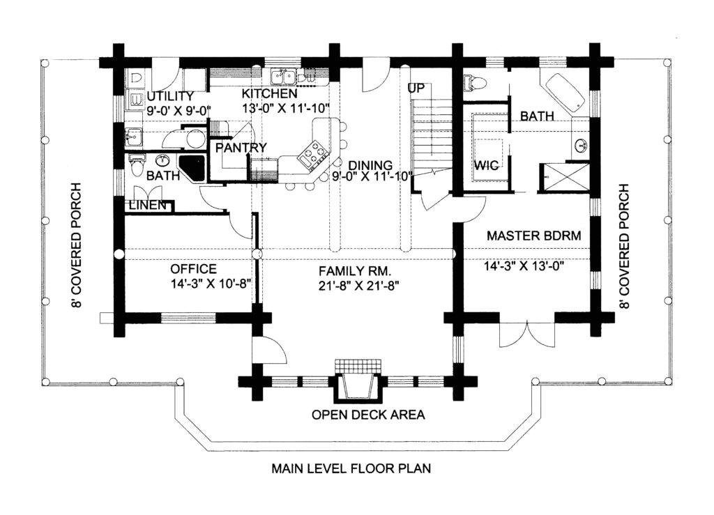 log home floor plans pdf