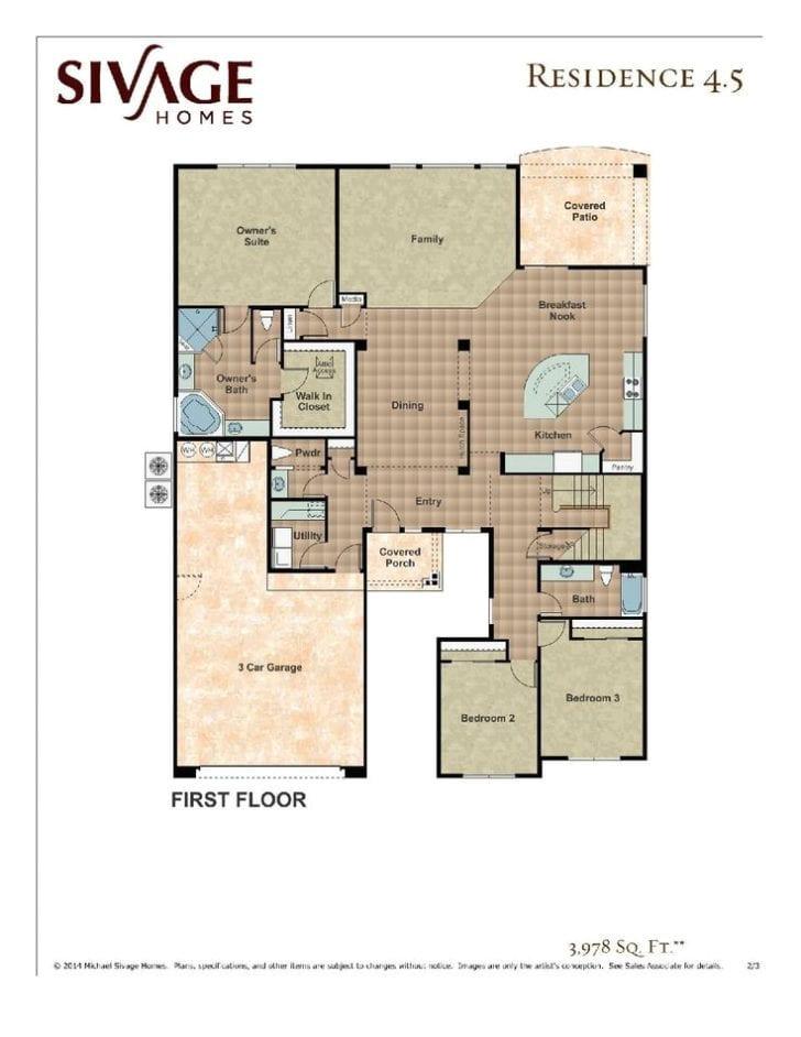 Thomas Homes Floor Plans Sivage Thomas Homes Floor Plans thefloors Co