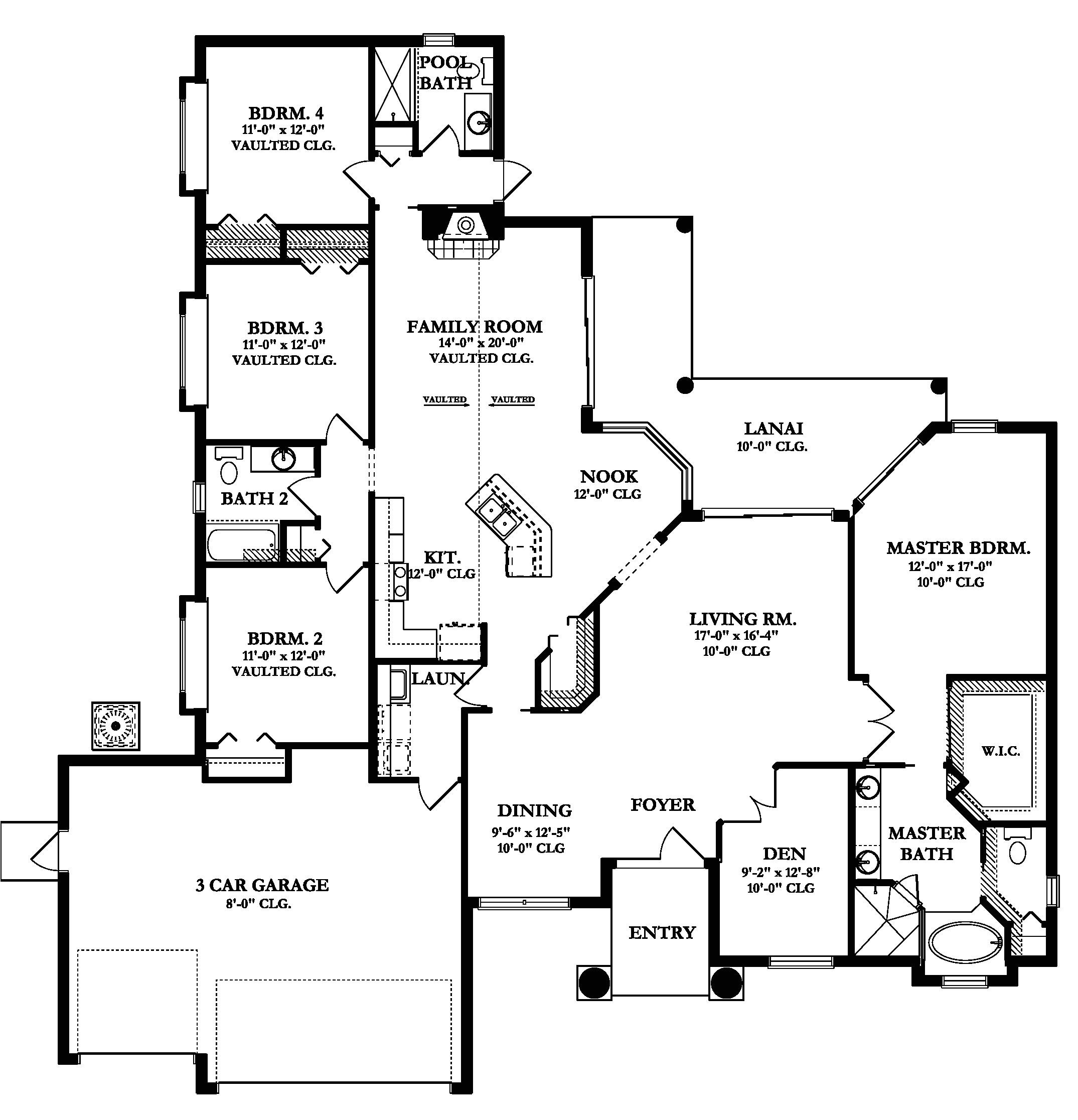 st thomas house plan