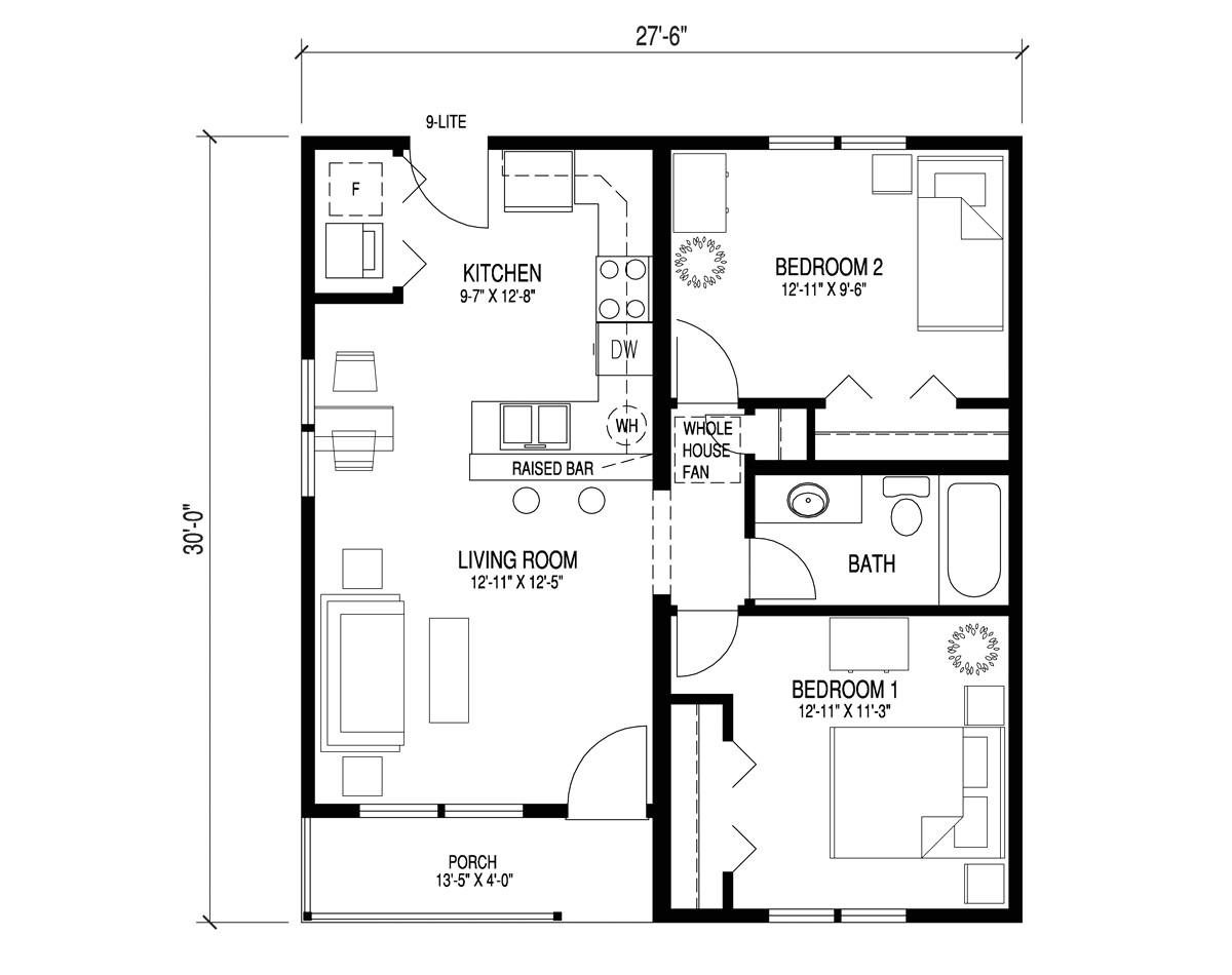 Tiny Home Plans Pdf Small 2 Bedroom House Plans Pdf Www Stkittsvilla Com