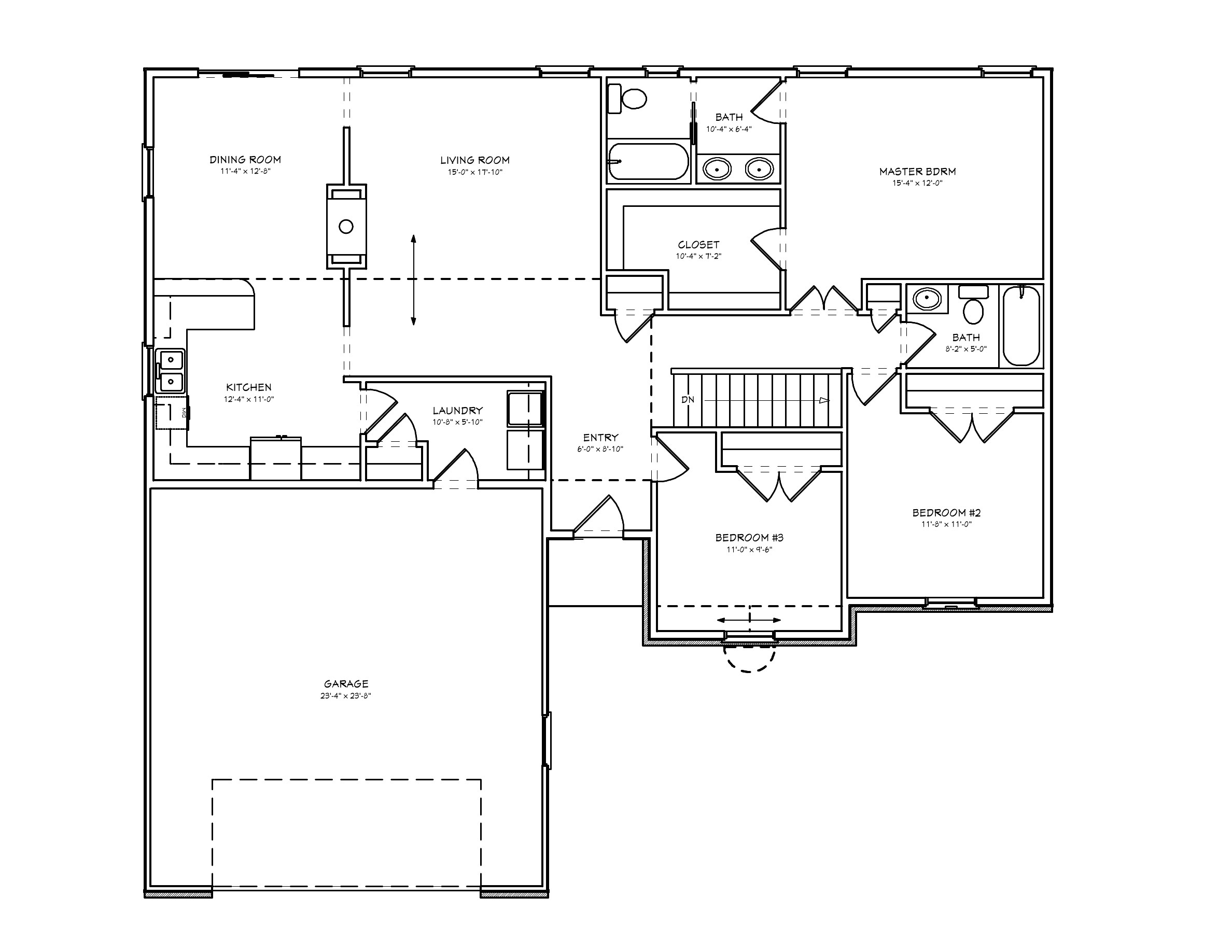 small 2 bedroom house plans pdf