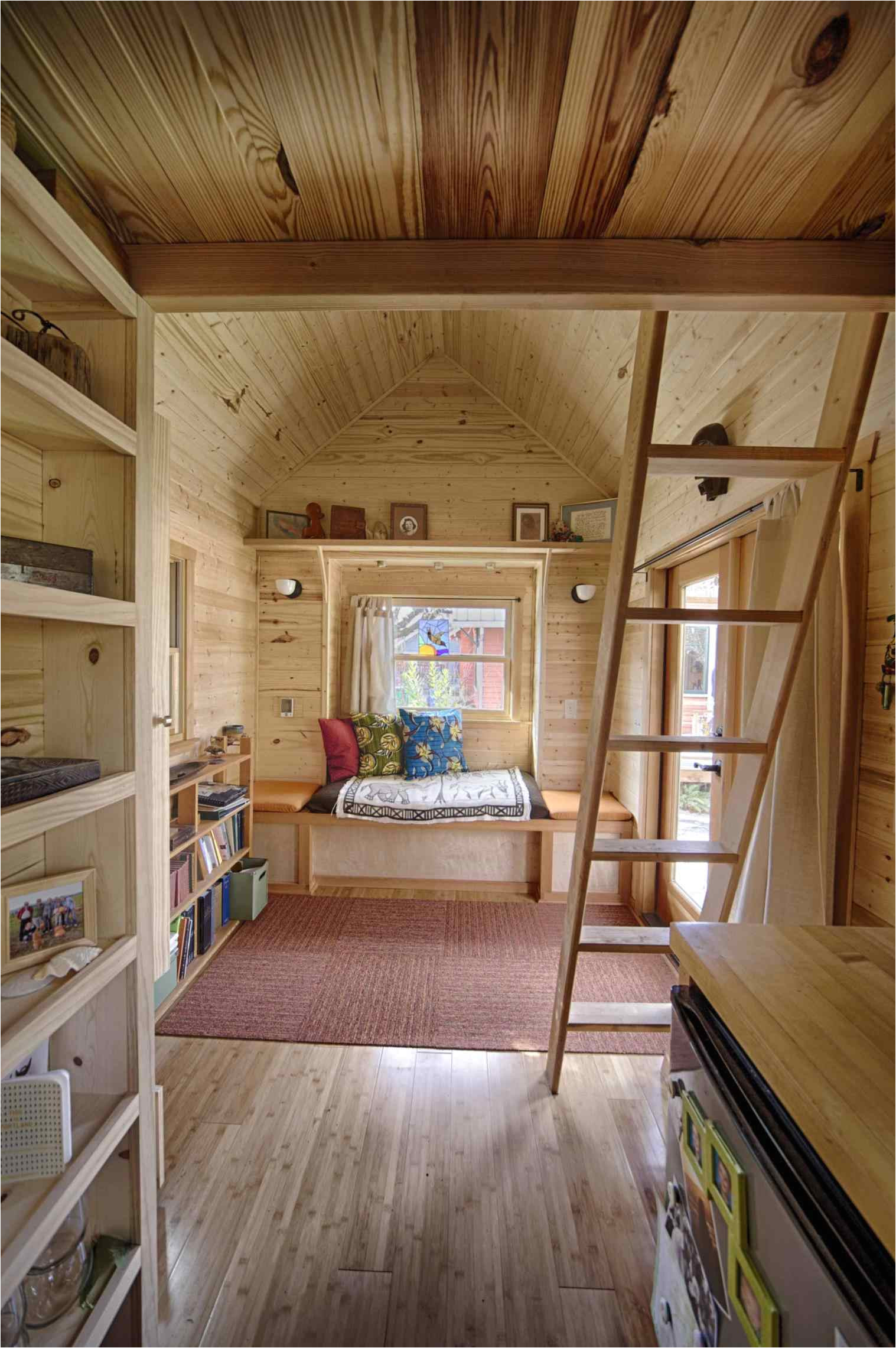 tiny house plans on wheels no loft
