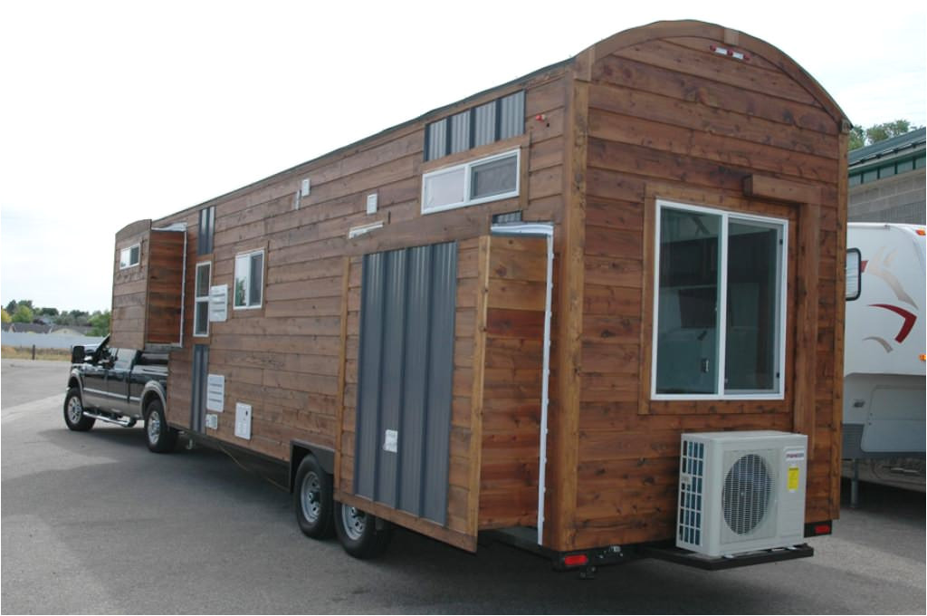 flatbed trailer tiny house