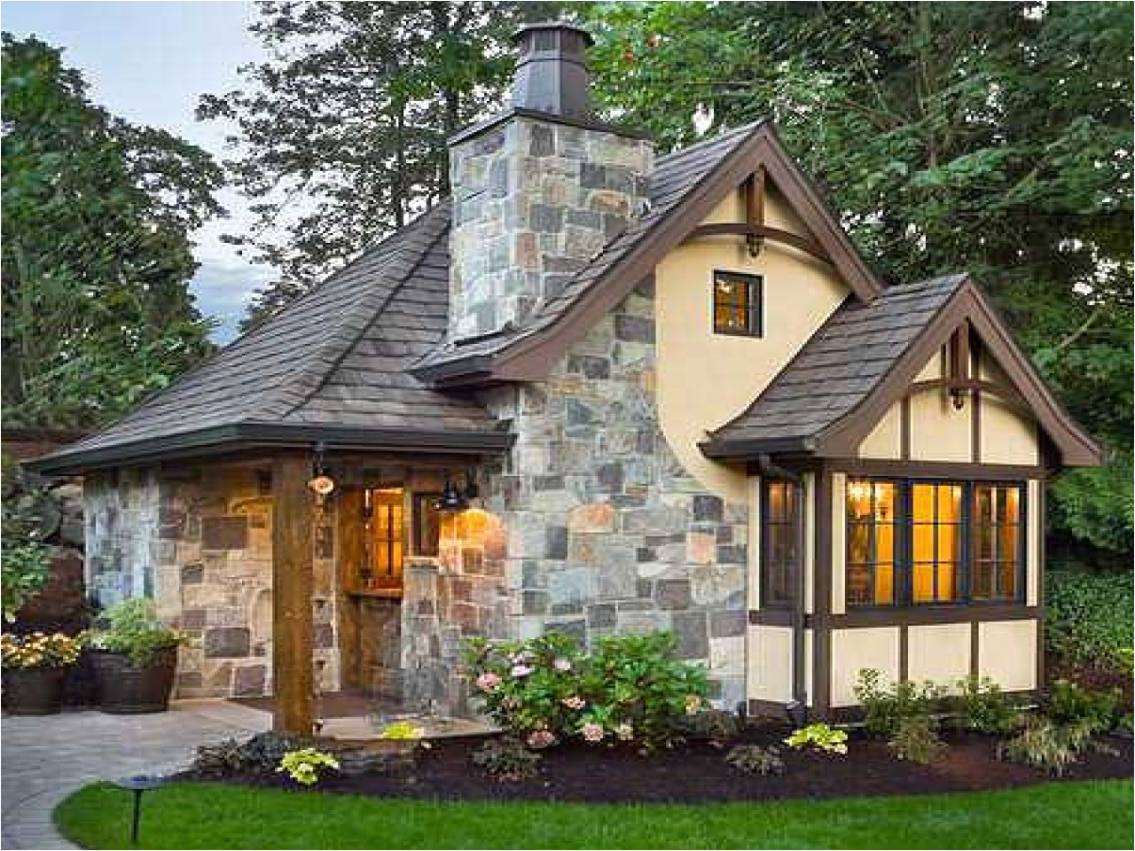 small vacation cottage house plans