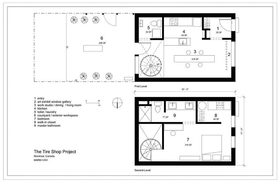 tire house floor plans