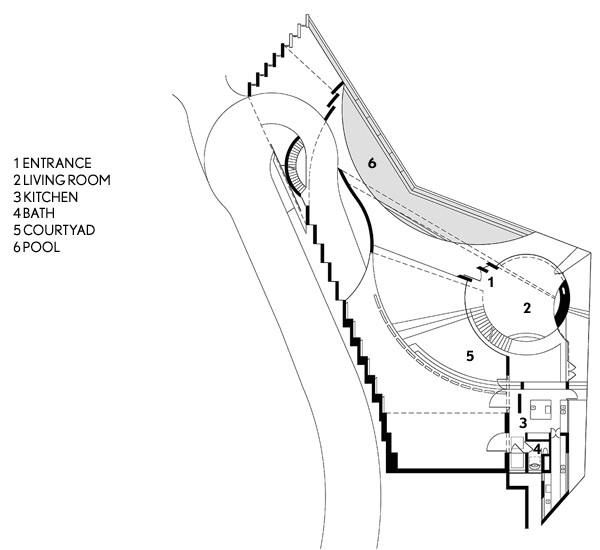 Tony Stark House Floor Plan the Razor Residence In La Jolla California House Of Iron Man
