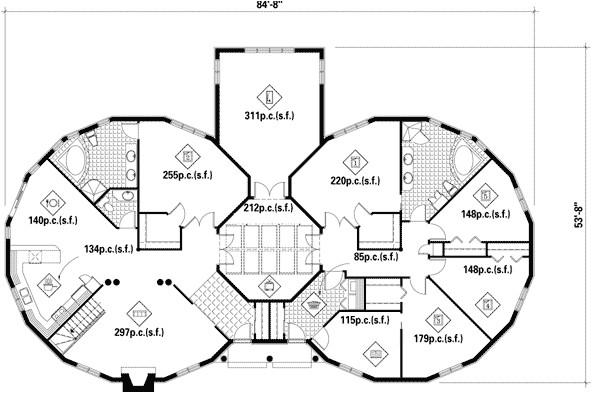 tony stark house floor plan